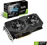 ASUS NVIDIA GeForce GTX 1660 DUAL OC 6G EVO Gaming Grafikkarte (PCIe 3.0, 6GB DDR5 Speicher, HDMI,...
