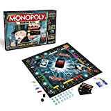 Hasbro Monopoly Banking Ultra - Klassiker der Brettspiele mit elektronischem Kartenleser,...