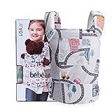 Bebamour Baby Puppentrage für Mädchen, 3 in 1 Babytrage Sling für Kinder, 100% Baumwolle Baby...