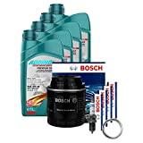 Bosch Inspektionsset Komplett + 4L Addinol 5W-40 Öl