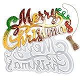 PANAMALAR Merry Christmas Silikonform Gießform, Silikon Harzform DIY Resin Handwerk Epoxidharz...