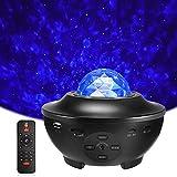 Delicacy LED Sternenlicht Projektor, Rotierende Wasserwellen Projektionslampe, Ferngesteuerte...