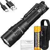 Fenix PD40R v2 LED-Taschenlampe, 3000 Lumen, mechanischer Drehschalter, USB-C, wiederaufladbar,...