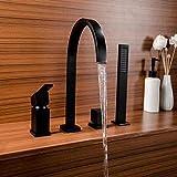 CJK BadezimmerKüchenarmatur Wasserhahn küche Wasserhahn Vollkupfer Zylinder Seite Badewanne...
