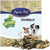 Lyra Pet® 10 kg Rinderdörrfleisch 10000 g Dörrfleisch Rind Kauartikel Snack Hund
