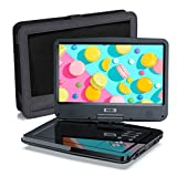 SUNPIN Tragbarer DVD Player mit 10,5 Zoll HD Schwenkbaren Bildschirm,...