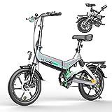 HITWAY Elektrofahrräder E Bike Elektrofahrrad Klapprad Klappräder Faltrad 250W elektrisches...