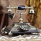 L.TSA Festnetztelefon Metall/Harz/Recomposition-Funktion/Anzeige von Datum und Uhrzeit/mit moderner...