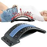 Rvest Rückengurt Rückenbandage,Rückenstretch-Massagegerät Lendenwirbel-Stretching-Gerät Zur...