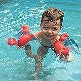 Wei Hongyu Schwimmflügel für Outdoor-Wassersport, Kinder, aufblasbar, Krabbenform, Schwimmflügel,...