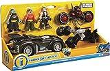 Imaginext Fisher Price - DC Super Freunde dc super Freunde Geschenk Set- Beinhaltet Batman, Robin &...