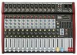 E-Lektron PW-1220 Live Power-Mixer 12-Kanal + stereo MP3-Kanal Mischpult inkl. 2x 400W Endstufe