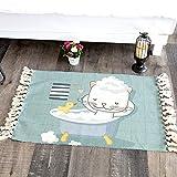 TIANLIYUN Innen und außen Nette Katze Bett Decken, Schlafmatten, Schnitzeln Baumwollstrick...