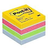 Post-it 2051-U Haftnotiz Mini Würfel (70 g/qm, 51 x 51 mm) 400 Blatt ultrafarben