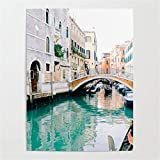 ATggqr Puzzle Klassisches 1000 Teile Puzzle Schöne Kanäle von Venedig 50x75cm Puzzle farbenfrohes...