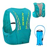 TRIWONDER 5L Trinkrucksack mit Trinkblase, Ultraleicht Laufrucksack für Marathon, Bergläufe,...