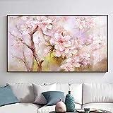 Abstrakte kirschblüte ölgemälde leinwand Kunst Geschenk Dekoration Wohnzimmer wandkunst...