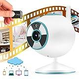 Pbzydu Überwachungskamera, 1080p, WLAN, CCTV, Vollfarb-Nachtsicherung, Überwachung von...
