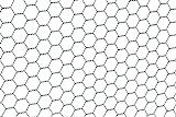 GAH-Alberts 614157 Sechseckgeflecht | verschiedene Längen und Höhen - wahlweise in verschiedenen...