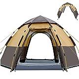 Camping Zelt, 5-8 Personen Wasserdichtes Ultraleichte Kuppelzelt, Mit Aluminum Zeltstange Saison...