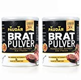 PAUDAR Bratpulver | Vegan, leicht dosierbar | 100 % pflanzlich, reduziert Fettspritzer, fettarme...