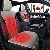 Big Ant Beheizbare Sitzauflage Auto,Heizauflagen Heizbare Sitzbezug 12V Beheizbare Autositzbezge...