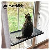 riijk Fenster Katzenhängematte für Katzen bis 23 kg   extra Stabiler Fensterliegeplatz für Katzen...