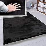 Paco Home Hochflor Teppich Wohnzimmer Kunstfell Super Soft Einfarbig in Versch. Größen und Farben,...