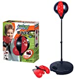 NANANA Punchingballe Boxen Set Boxsack Kinder mit Boxhandschuhen, Boxtraining Standboxball...