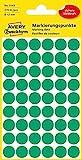 AVERY Zweckform 3143 selbstklebende Markierungspunkte 270 Stück (Ø12mm, Klebepunkte auf 5 Bogen,...