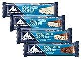 Multipower 53% Protein Bar – 24 x 50 g Proteinriegel Mix Box (1,2 kg) – 27 Gramm Protein pro...