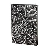 JYCDD Tagebuch, Vintage, Leder, A5, liniert, Hardcover, Reisetuch, Lined Ruled Notebook Block,...