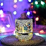 Feuerwerk Aroma Lampe Duftlampe Nachtlicht 3D elektrischer Wachsbrenner für Wachsschmelzen,...