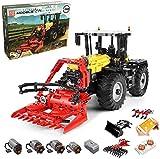 KEAYO Technik Traktor Ferngesteuert, Mould King 17019, 4-in-1 Traktor Modell Groß Klemmbausteine...