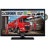 Telefunken T24X740 MOBIL DVD TV 24' Zoll, DVB/S/S2/T2/C USB 12V 24 Volt 230 Volt inkl....