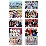 yanqiu NCT127 Mini 4 Series WE Are SUPERHUMA Crystal Card Sticker We Are Superhuma H03