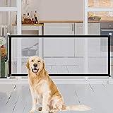 Tragbar Hunde Türschutzgitter, Faltbar Hundeschutzgitter, Absperrgitter für Haustier Hunde Katzen,...