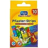 Figo Kinder-Pflaster 'Zoomotive' (1 Packung, 10 Stück)