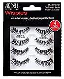Ardell Professional Echthaarwimpern Demi Wispies (4 Paar), Eye-lashes für den natürlichen Look...