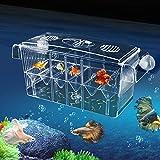 Aquarium Ablaichkasten Klein GroßMultifonctionnel hautement transparent Boîte de nidification de...