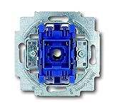 Busch-Jaeger 2000/6US Schalterserien Wechselschalter Blau, Metallisch