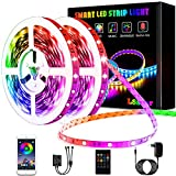 L8star LED Strips 20M, RGB Smart LED Streifen Farbwechsel LED Band, Musik Sync LED Lichterkette mit...