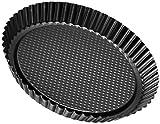 Zenker 6521 Obsttortenform  28 cm, black metallic