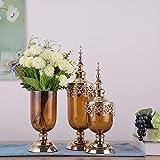 Mädel Kreative Vase Dekoration Glas Transparent Esstisch Luxus Weiche Dekoration Wohnzimmer...