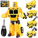 Yojoloin Verformungs spielzeug Verformungs LKW-Spielzeug Transformer Roboter Spielzeug 4 in 1...
