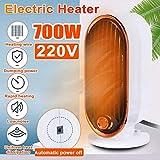Sipaluo Mini Elektrische Heizung, Efficient 700W Einstellbare Thermostat Elektrische Heizung Mini...