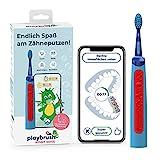 Playbrush Smart Sonic, smarte elektrische Schallzahnbürste für Kinder mit interaktiver Spiele-App...