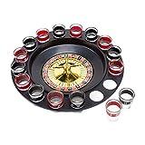 Kehyes Roulette Trinkspiel Partyspiel 16 Loch Trink Roulette Saufspiel für Partys für Erwachsene