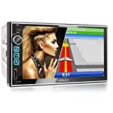 XOMAX XM-2VN752 Autoradio mit Mirrorlink, GPS Navigation, Navi Software, Bluetooth...