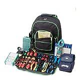 Robuster 600D Oxford Werkzeug-Rucksack, Mehrfachtaschen, Werkzeugtasche, Werkzeugtasche, perfekte...